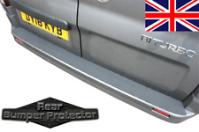VAUXHALL VIVARO '15 - '19 REAR BUMPER PROTECTOR / NON SLIP SAFETY TREAD STRIP