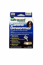Safe-Guard Canine Dewormer For Dogs Only, 6 Weeks and Older, 9 Pouches Total