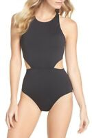 Tommy Bahama Pearl Cutout One-Piece Swimsuit TSW20140P Black 12