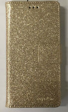 CARPE DIEM Book Case BLING Handytasche Samsung A510 Galaxy A5 (2016) Farbe: Gold