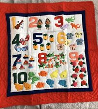 Hawaiian Baby Quilt Numbers 40� x 40� Square