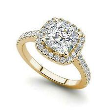 1.2 Carat Round Cut Diamond Engagement Ring Vs2 H