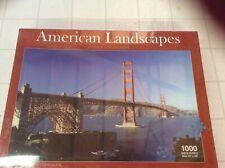 "1000 PIECE JIGSAW PUZZLE ""GOLDEN GATE BRIDGE"" AMERICAN LANDSCAPES COLLECTION"