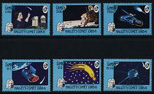 Gambia 604-9 MNH Halley's Comet, Moon Landing, Satellite