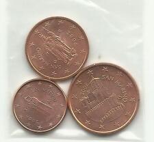 1 / 2 / 5 Cents SAN MARIN 2006 neuves ( U N C )