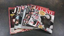 LOT OF 7 VINTAGE MAGAZINES LADIES HOME JOURNAL STAR JACKIE KENNEDY JFK & MORE