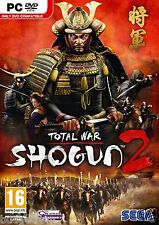 Total War Shogun 2 Strategy Game PC Brand New Factory Sealed