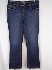 Tommy Hilfiger Womens Jeans Hope Boot Size 8 R Dark Blue Women's Pants 33x29