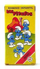 1983 Heraclio Fournier cards – SMURFS CHILDREN DOMINO – RARE Spanish FULL deck