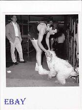 Gardner McKay w/dog pussycat VINTAGE Photo