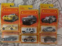 Matchbox- Target Exclusive Retro Series LOT OF 6 *New*