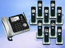 AT&T TL86109 2-LINE DECT 6.0 PHONE SYSTEM BLUETOOTH - 9 CORDLESS - BRAND NEW