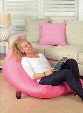 KOO PINK MESH SANDWICH ADULT SIZE BEAN BAG COVER NEW