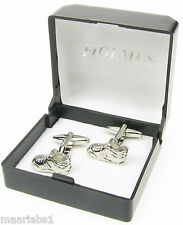 NOVELTY CUFF LINKS RUGBY FOOTBALL SOCCER BOOTS TRAINERS MENS XMAS BNIB NEWUK