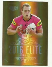 2016 NRL ESP Elite PENRITH PANTHERS ISAAH YEO parallel GOLD card SG132