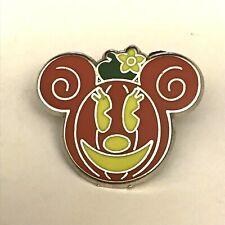 Walt Disney Minnie Mouse As a Halloween Jack O Lantern Pumpkin Collectible Pin