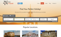 Travel Website - Earn Hundreds Per Sale! + Free Domain & Easy to Manage!