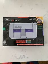 """New"" Nintendo 3DS XL - SNES Limited Edition Console w/ Super Mario Kart DLC"
