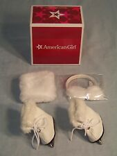 American Girl Molly's Ice Skates and Muffs Set New In Box! Retired!
