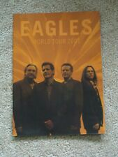 Eagles 2001 World Tour Book New Condition Save Big