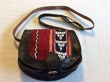 Moroccan New Genuine Leather Handmade Purse Shoulder Bag Berber Design