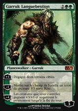 MAGIC Garruk Languebestion / Wildspeaker M11 VF NM + 3 TOKENS PLANESWALKER MTG