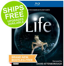 Life (Blu-ray, 2010) NEW, David Attenborough, Planet Earth, BBC Earth, Oprah