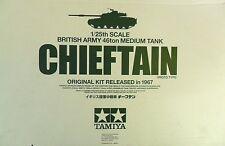 TAMIYA 1:25 KIT CARRO ARMATO BRITISH ARMY 46ton MEDIUM TANK CIEFTAN  ART 30608
