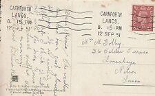 Mrs Minnie Golby, 36 Calder Terrace, Lomeshaye, Nelson 1951 JZ3.85