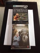 Natural Curiosities Series 1 & 2 Plus Attenborough In Paradise BBC DVD's