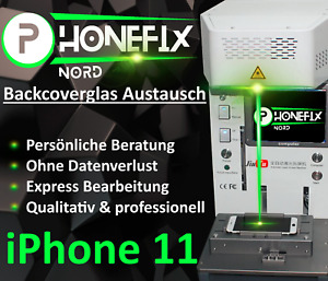 iPhone 11 Backcover Reparatur Rückseite Glas ✔️ PROFESSIONELL ✔️ 24H EXPRESS
