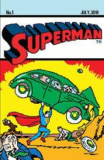Superman 1 DC 2018 Matthew Waite 16 Bit Action Comics 1 Homage Variant LTD 700