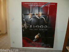 (66) AFFICHE DE CINEMA 120 X 160     BLOOD THE LAST VAMPIRE