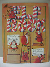 Prudy's Elf Book Prudy Vannier Christmas Tole Decorative Painting Pattern Book