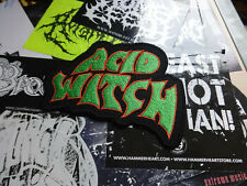 Acid Witch Patch Shape Psychedelic Doom/Death Metal Coffins Church of Misery