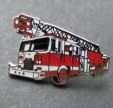 Pierce Fire Engine Truck Fire Fighter Helmet Medical Insignia Brass Metal Pin
