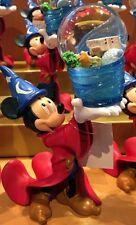 Sorcerer Mickey Snowglobe Figurine Four Parks Disney World Theme Parks NEW