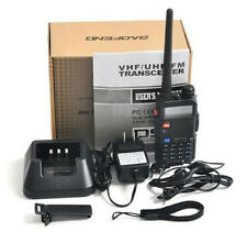 BaoFeng UV-5R VHF/UHF Dual Band 136-174/400-480Mhz Transceiver Two-Way Radio