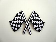 Checkered,Racing Flag,Patch,Badge,Aufbügler,Aufnäher,Flagge,V8,Motorsport,Racing
