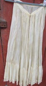 antique silk slip 100% silk vinage long wedding party gown victorian edwardian