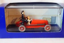 BOLIDE ROUGE 1930 LES CIGARES DU PHARAON 1/43 COLLECTION EN VOITTURE TINTIN