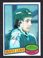 Bill Derlago #11 signed autograph auto 1980-81 Topps Hockey Trading Card