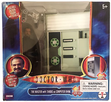 Doctor Who Master & TARDIS from Time Monster Action Figure Set NEW Roger Delgado