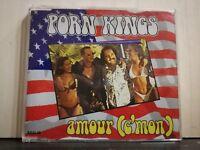 PORN KING - AMOUR (C'MON) brano in 6 versioni - CD singolo slim case 1997