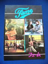 192.1980 FAME Japan Vintage PROGRAM Irene Cara Barry Miller