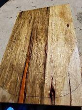 Black limba Korina GUITAR lumber blank for LUTHIER, CRAFT, bass. Exotic wood
