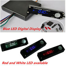 1xBlue LED Digital Display Auto One Piece Turbo Timer Relay Controller Universal