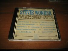 Greatest Hits by Stevie Wonder (CD, Aug-1998, Motown)