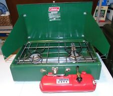 Vintage Coleman Easy-Lite Green Fuel Camp Stove Model 459 Dated 3-78 GREAT SHAPE