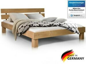 Bett / Massivholzbett / Doppelbett (Pumba) alle Größen 3 Farben 100%Handarbeit